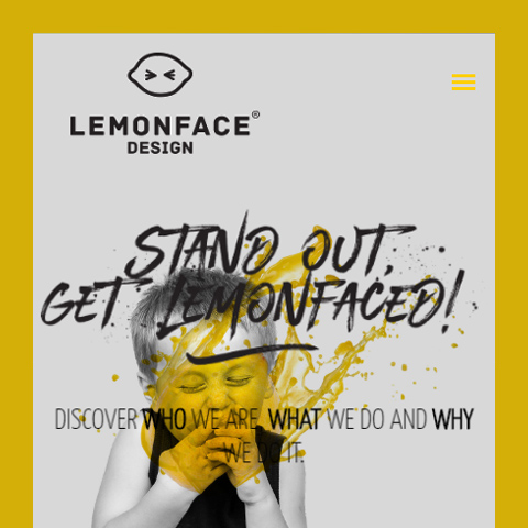 Lemon Face Design